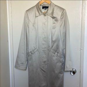 JONES NEW YORK Coat - Silverish